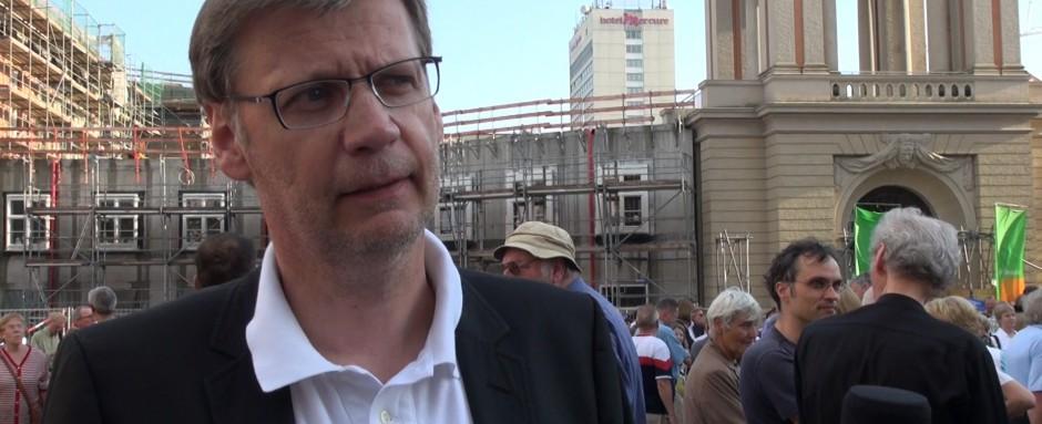 Günther Jauch im Einsatz für Potsdam