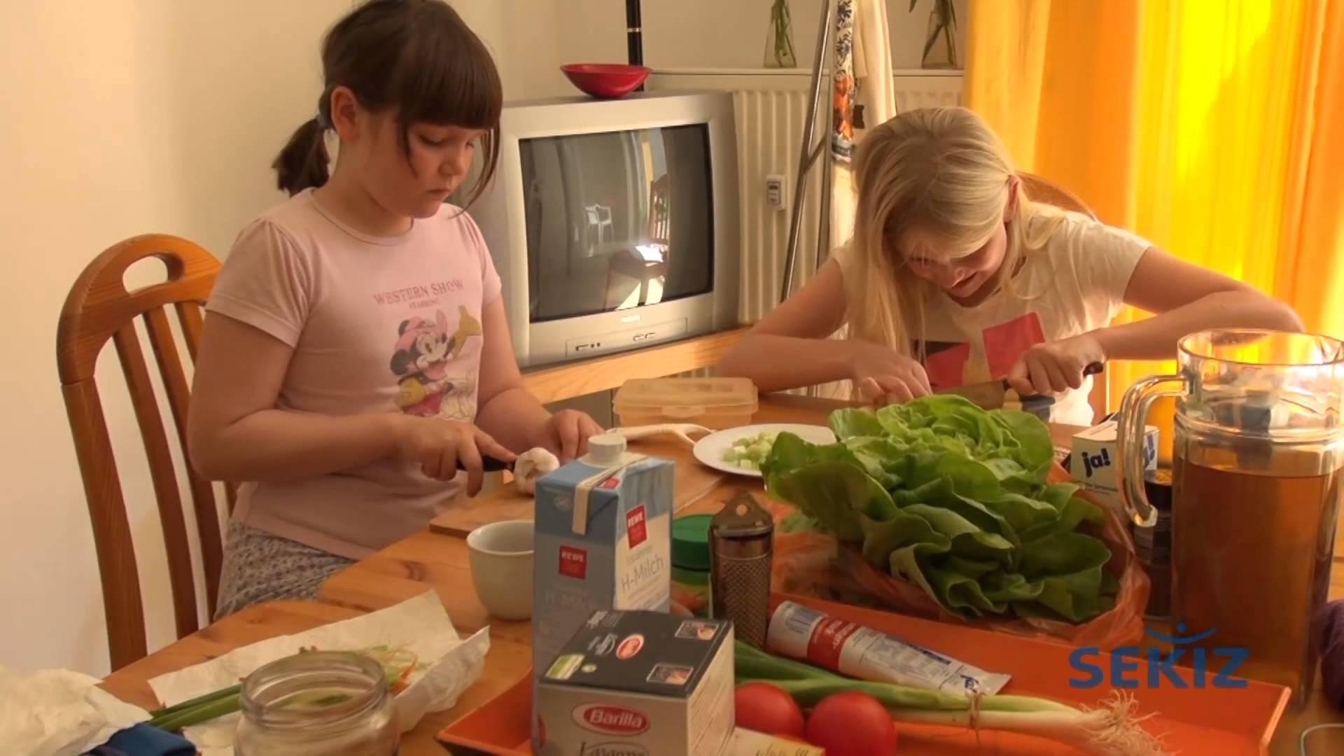 SEKIZ Kinder kochen