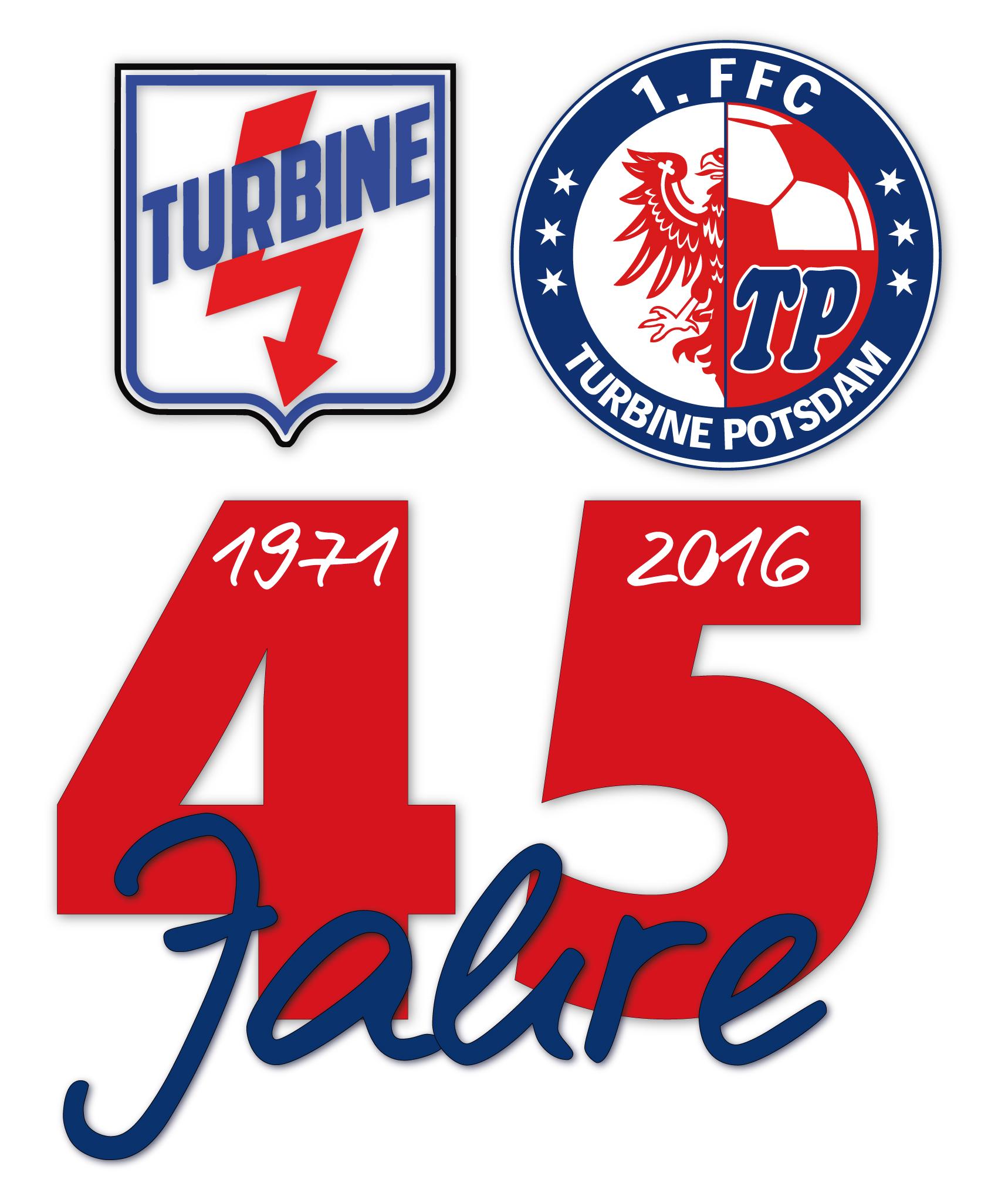 45 Jahre Turbine Potsdam